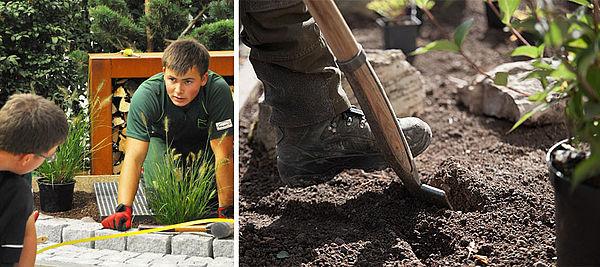 Landschaftsgärtner In Netzwerk Gärten